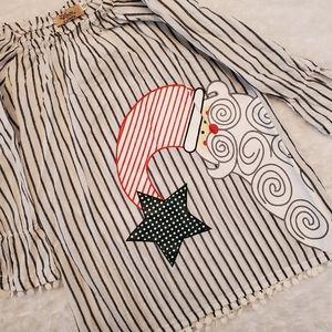 Other - Precious Christmas long sleeved lightweight dress!